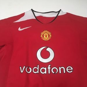 74e61595dc8 Nike Other - Manchester United Vodafone Nike 2004 Jersey